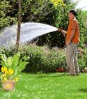 Pumpe Gartenbewaesserung
