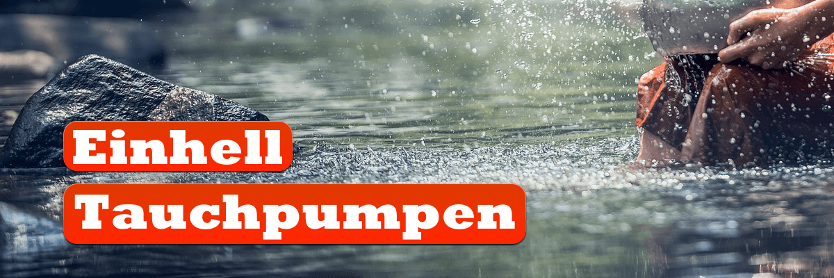 Einhell Schmutzwasserpumpe
