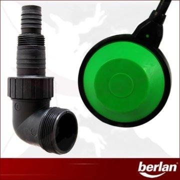 Berlan BSTP400 Schmutzwasserpumpe Universalanschluss und Schwimmerschalter